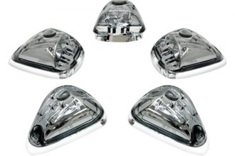 IPCW® - Platinum Smoke LED Cab Roof Light Lenses