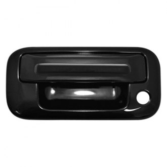 IPCW® - Black Tailgate Handle with Red LEDs