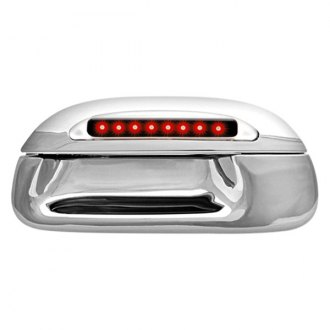 IPCW® - Chrome Tailgate Handle with Red LEDs