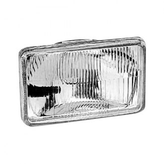 "IPCW® - 4x6"" Rectangular Chrome OE Style Headlight"