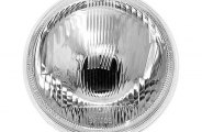 "IPCW® - 7"" Plain Chrome Conversion Headlight"