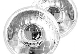 "IPCW® - 7"" Chrome Euro Conversion Projector Headlights"