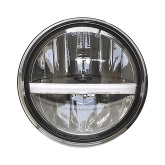 "IPCW® - 7"" Round Chrome Dual Function DRL-Bar LED Headlight"