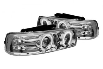 IPCW® - Chrome Euro Halo Projector Headlights