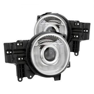 IPCW® - Chrome U-Bar Projector LED Headlights