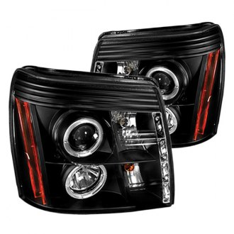 IPCW® - Black Halo Projector LED Headlights with DRL