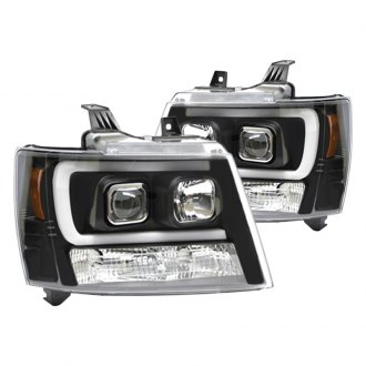 IPCW® - Black U-Bar Projector LED Headlights