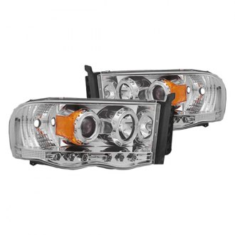 IPCW® - Chrome Halo Projector LED Headlights