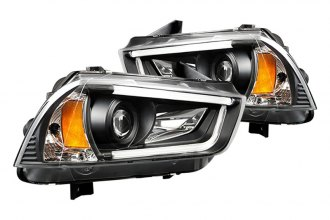 IPCW® - Black Projector Headlights with Rings