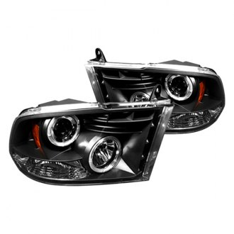 IPCW® - Black Halo Projector LED Headlights