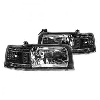 IPCW® - Black Euro Headlights with Corner Lights