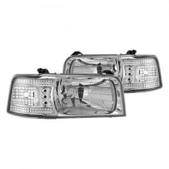 IPCW® - Chrome Euro LED Headlights with Corner Lights