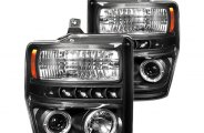 IPCW® - Black Halo Projector Headlights with LEDs - SD