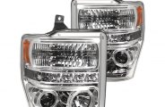 IPCW® - Chrome Halo Projector Headlights with LEDs - SD
