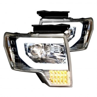 IPCW® - Chrome U-Bar Projector Headlights with LED Turn Signals