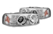 IPCW® - Chrome Halo Projector Headlights with LEDs
