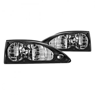 IPCW® - Bermuda Black Euro Headlights