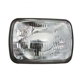 "IPCW® - 7x6"" Rectangular Chrome Factory Style Composite Headlight"