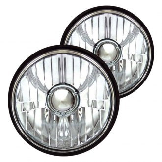 "IPCW® - 5 3/4"" Round Chrome Euro Headlight"