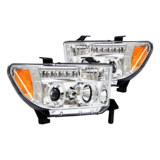 IPCW® - Chrome Halo Projector Headlights with LED DRL