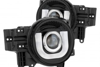 IPCW® - Black LED DRL Bar Projector Headlights