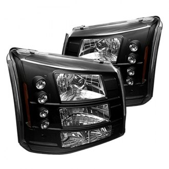 IPCW® - Black Conversion Euro Headlights with LED DRL