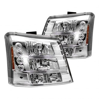 IPCW® - Chrome Conversion Euro Headlights with LED DRL