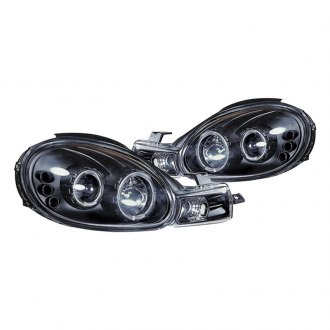 Ipcw Black Halo Projector Headlights With Parking Leds