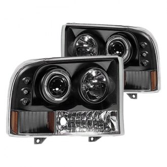 IPCW® - Black Halo Projector Headlights with Parking LEDs
