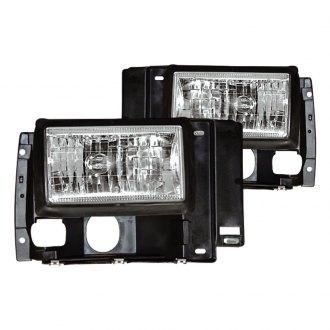 1992 ford ranger custom factory headlights. Black Bedroom Furniture Sets. Home Design Ideas