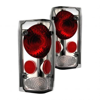 IPCW® - Chrome Red/Platinum Smoke Euro Tail Lights