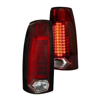 IPCW® - Chrome/Ruby Red LED Tail Lights
