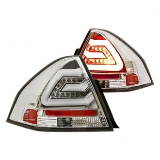 IPCW® - Chrome Fiber Optic LED Tail Lights