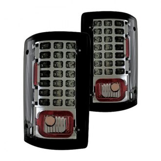 IPCW® - Chrome/Platinum Smoke LED Tail Lights