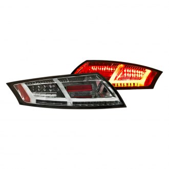 IPCW® - Platinum Smoke Sequential Fiber Optic LED Tail Lights
