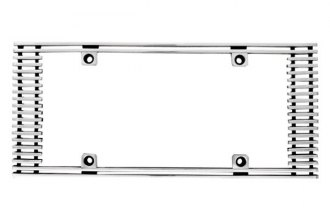 IPCW® - Billet License Plate Frame with Straight Edges