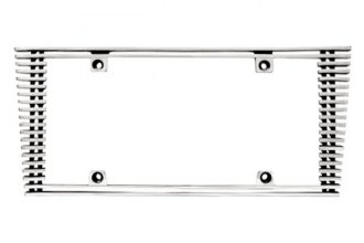 IPCW® - Billet License Plate Frame with Sloped Edge