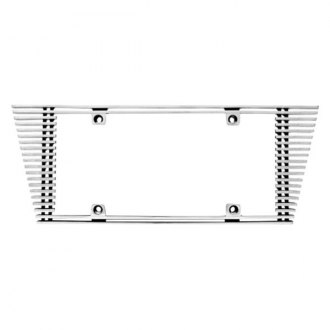 IPCW® - Billet License Plate Frame with Angled Edges