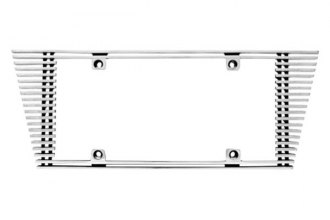 IPCW® - Billet License Plate Frame with Angled Edge