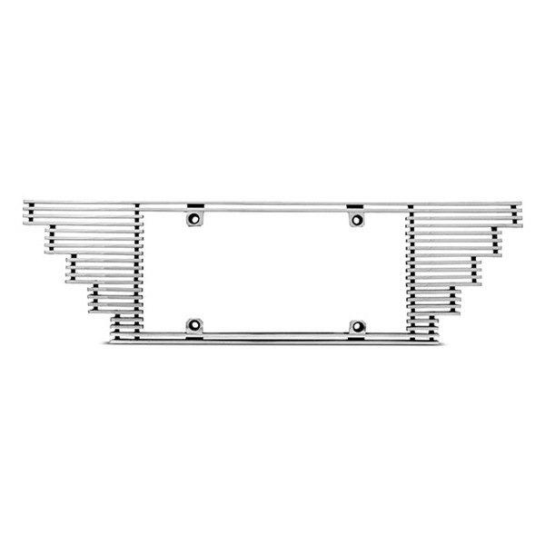 IPCW® - Billet License Plate Frame with Stepped Edge
