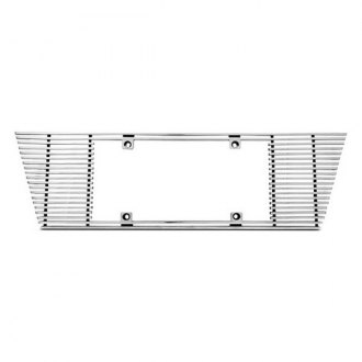 IPCW® CWL-453B - Billet License Plate Frame with Angled Edges