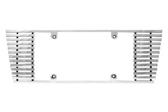 IPCW® - Billet License Plate Frame with Sloped Edges