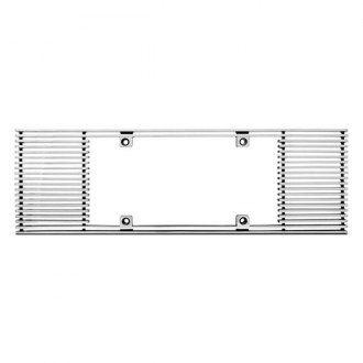 IPCW® CWL-833A - Billet License Plate Frame with Straight Edges