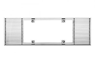 IPCW® - Billet License Plate Frame with Straight Edge