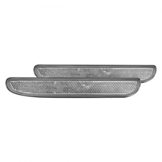 IPCW® - Chrome Side Marker Lights with Reflectors