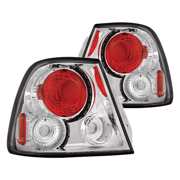 IPCW® - Chrome/Red Euro Tail Lights