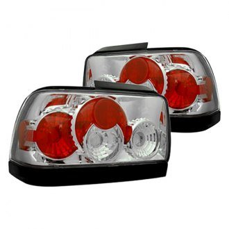 IPCW® - Chrome/Red Euro Tail and Trunk Lights