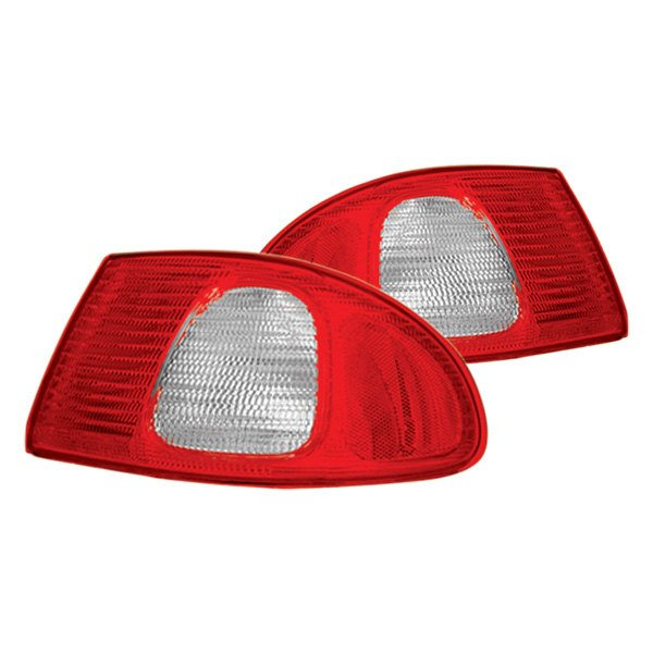IPCW® - Red/Clear Euro Tail Lights