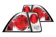 IPCW® - Crystal Clear Euro Tail Lights - 4DR
