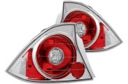 IPCW® - Crystal Clear Euro Tail Lights - 2DR